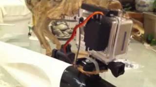 GoPro Hero HD Pan/Tilt for Radio Control Radian FPV