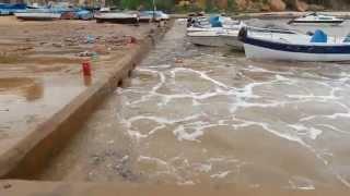 tsunami à krichtel oran Algérie