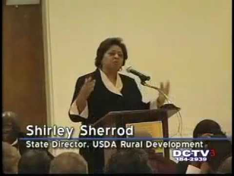 "Shirley Sherrod -  ""The real struggle is about poor people"""