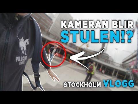 NÅGON STAL MIN KAMERA!? | Stockholm Vlogg