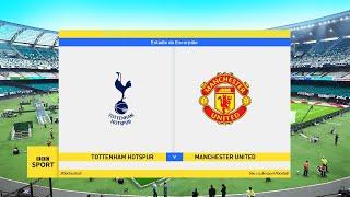 Tottenham Vs Manchester United - Premier League | PES 2020
