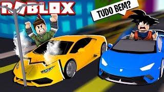 CRASH IN ROBLOX'S CAR SIMULATOR!!