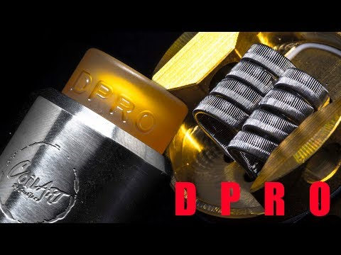 The DPRO by CoilArt | Postless RDA for the Flavor Chasers| Half Staggered Staple Coils | StarHunter