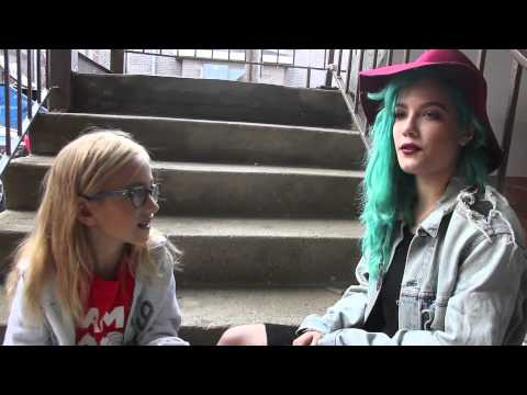 Kids Interview Bands - Halsey