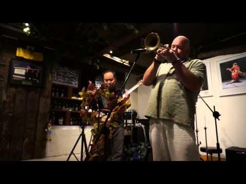 Sweet Lorraine - Mark Kelly (vocal-trumpet) & Daniel Purnomo (guitar)