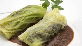 Col rellena de morcilla de arroz - Karlos Arguiñano