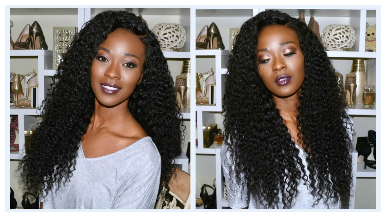 How To Make A Curly Wig With A Lace Closure Malaysian Curly From