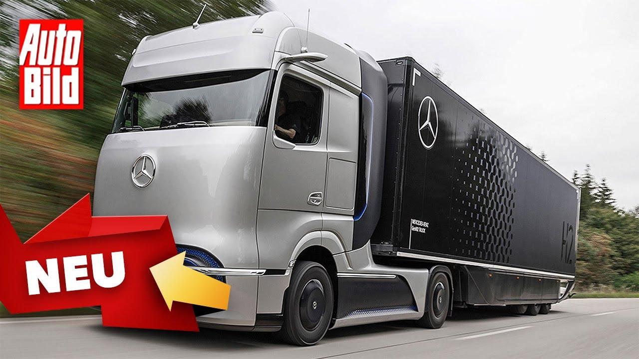 Mercedes GenH2 (2023): Neuvorstellung - Studie - Wasserstoff - Lkw - Info