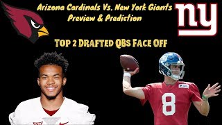 New York Giants Vs  Arizona Cardinals Game Preview and Prediction! Dub On Deck!