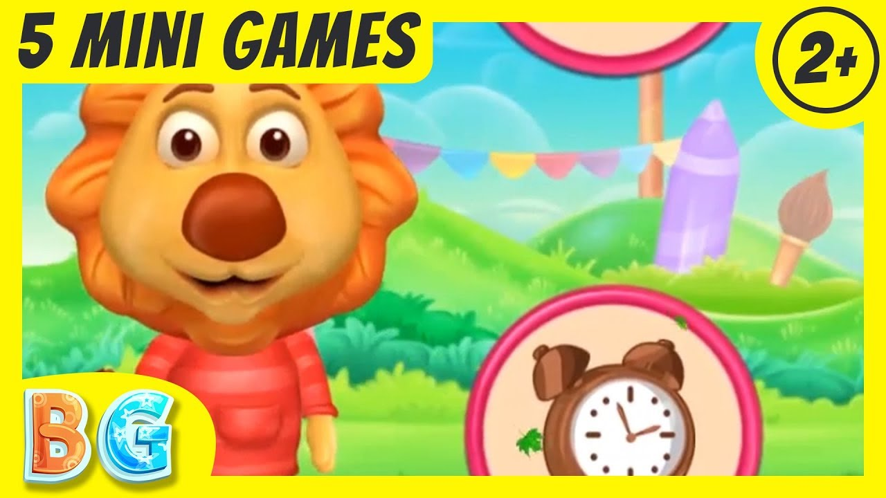 ✚♫ Colors & Words For Preschoolers | Best Video Games For Kids Age ...