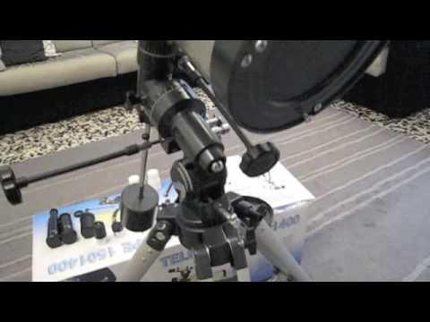 Telescope big boss 6 1400 150.m4v youtube