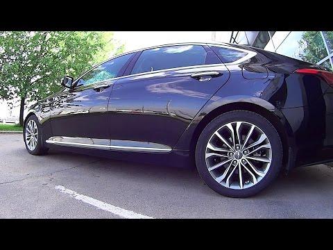 Новый Hyundai Genesis Тест драйв 2015