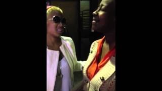 LeAndria Johnson sings for Keyshia Cole - LORD KEEP ME DAY
