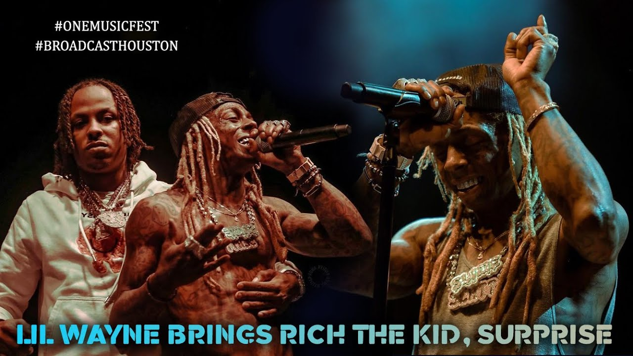 Download ONE MusicFest: LIL WAYNE Brings RICH THE KID As SUPRISE GUEST, ATL Crowd Goes Absolutely Insane