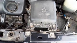 видео Замена датчика температуры lada 21124 (ваз 21124)