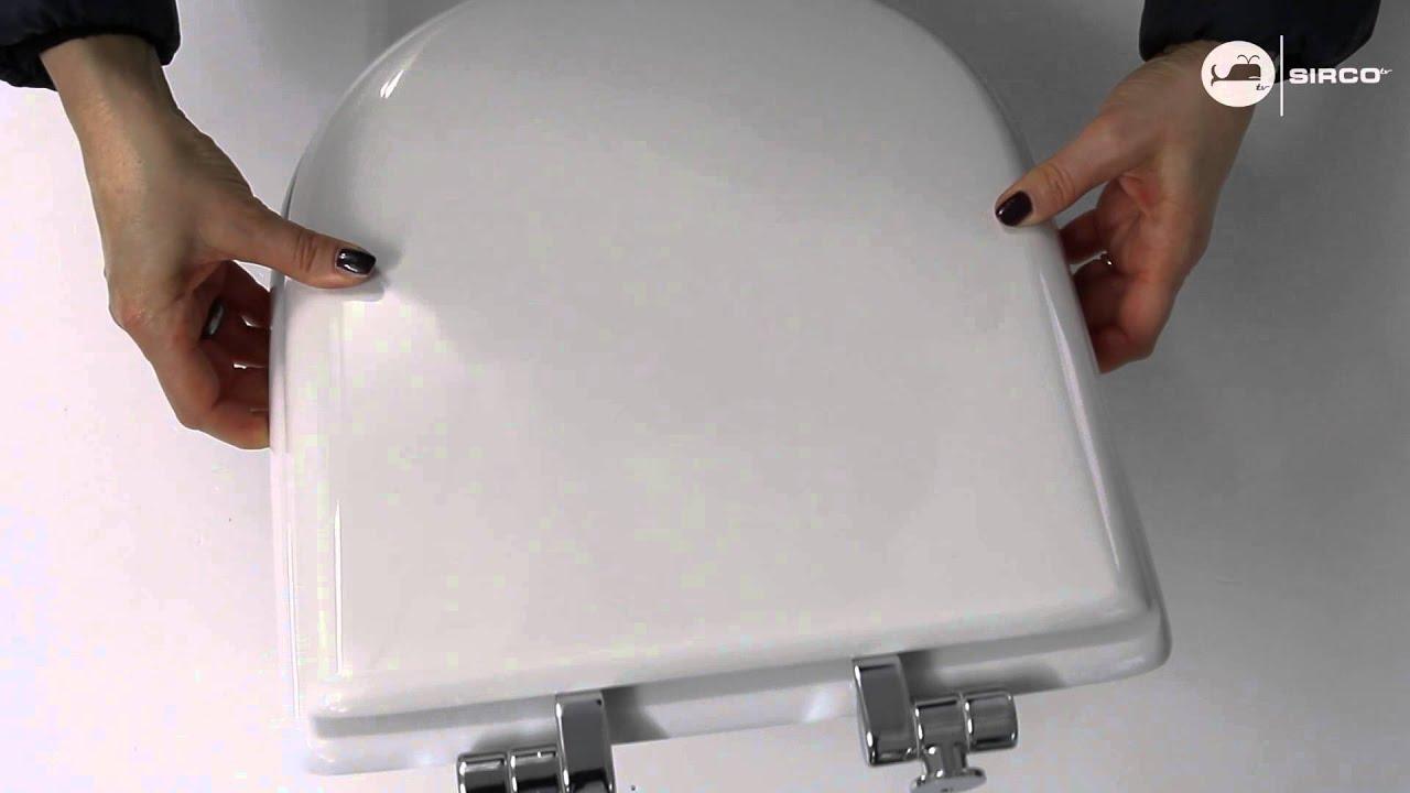 Sedile copriwc ideal standard serie tonic rallentato for Copriwater ideal standard esedra