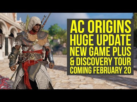 Assasssin's Creed Origins New Game Plus & Discovery Tour Coming Feb 20 (AC Origins New Game Plus)