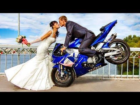 😃 МотоСвадьба - Свадьба на Мотоциклах 👍!