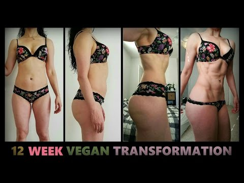 FEMALE VEGAN BODYBUILDING TRANSFORMATION MOTIVATION! - Cory