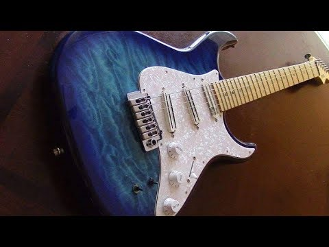 The best Korean guitar ever made??? Fernandes Retro Rocket Elite Demo!