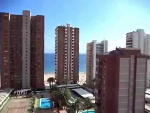 Venta de apartamento un dorm en av mediterraneo benidorm 10733 youtube - Compro apartamento en benidorm ...