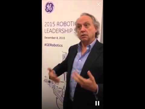 Rodney Brooks, founder of iRobot and Rethink Robotics, on commercially successful robot
