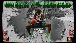 Jam Rules with Green Majik 1/12 - NBA Jam - Super Nintendo
