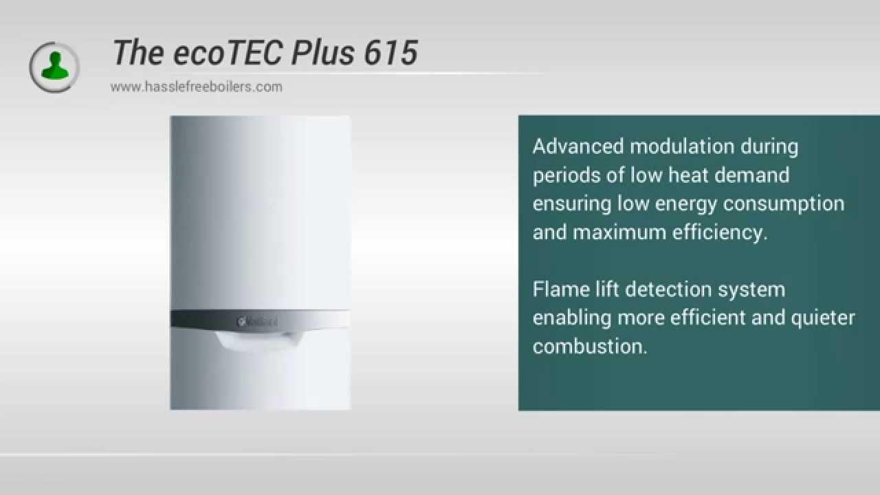 Vaillant 615 Plus 15kw System Boiler - YouTube