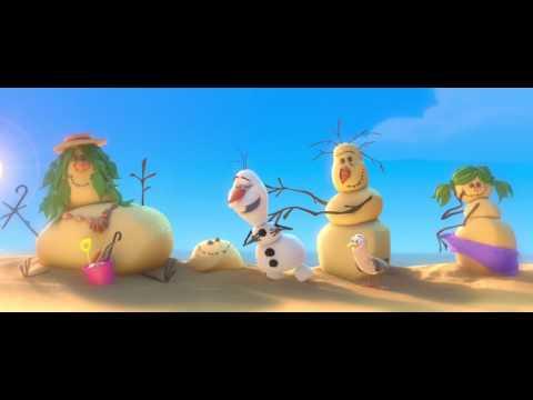 Die Eiskönigin - Olaf Im Sommer