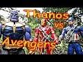 Thanos vs Superman & Avengers + Spiderman, Hulk, Thor, Black Panther, Iron Man Full Fight! Part 2