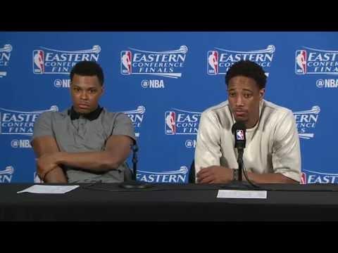 Raptors Post-Game: Kyle Lowry & DeMar DeRozan - May 27, 2016