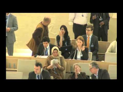 EUJS at the 25 session of UNHRC - Item 7 - GD - Nathan Chicheportiche