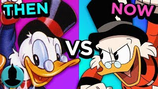 Then Vs. Now - DuckTales - The Evolution of DuckTales (Tooned Up S4 E45)