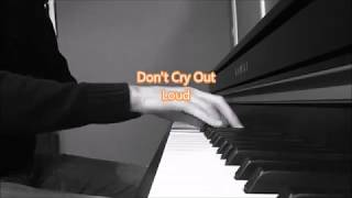 Don't Cry Out Loud - Mellisa Manchester/Elkie Brooks - Piano Cover