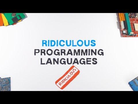 Ridiculous Programming Languages | Esoteric Programming Languages