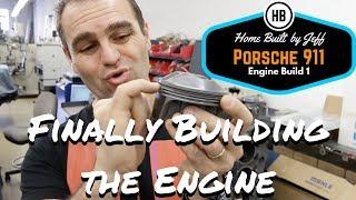 Finally building the engine! - Porsche 911 2.8RSR Engine Build part 1