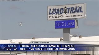 ICE agents raid manufacturing plant, arrest 160 for immigration violations
