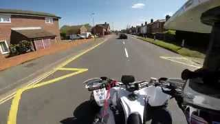 Yamaha Yfz450 R GoPro Hero 3+ Road Legal Quad Bike ATV Quad Raptor 700 London England United Kingdom
