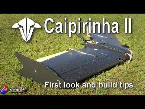 First Look: TBS Caipirinha II FPV Wing