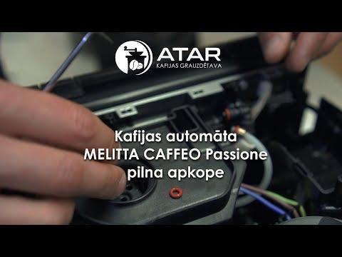 Kafijas Automata Melitta Caffeo Passione Pilna Apkope Youtube