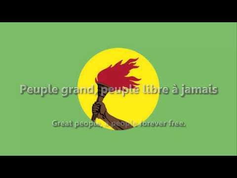Zaïre - National Anthem - La Zaïroise (ACAPPELLA VERSION)