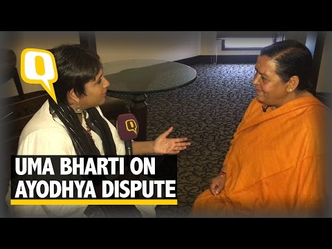The Quint: Proud to Be Part of Ram Mandir Andolan: Uma Bharti Before UP Polls