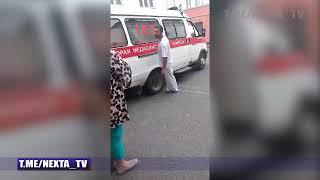 Видео о конфликте в больнице в Ивацевичах от NEXTA