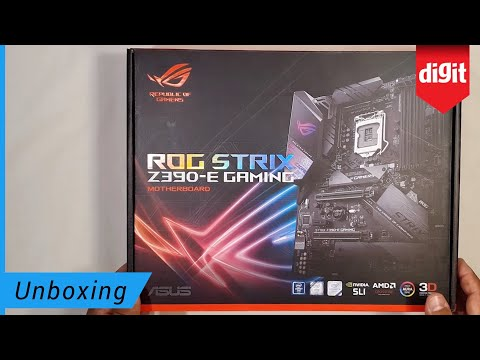 Asus Rog Strix Z390 E Gaming Motherboard Unboxing Newsspot Tech News Gadget Reviews Mobiles Laptops