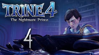 Trine 4: The Nightmare Prince - Кооперативное прохождение игры - Скалистые пустоши ч.1 [#4]   PC