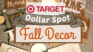 NEW FALL Target Dollar Spot 2018 | Cute Fall Farmhouse Decor | Target Fall Haul | KraftsbyKatelyn