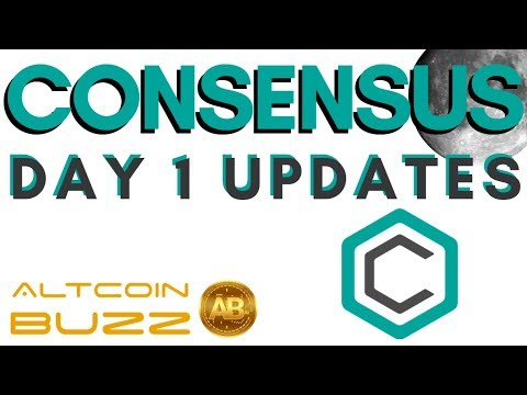 Consensus NY : Cryptocurrency Conference Day 1, ZCash and more in the Bitcoin World!