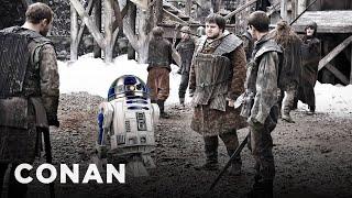 """EXCLUSIVE """"Game of Thrones"""" Paparazzi Photos  - CONAN on TBS"""