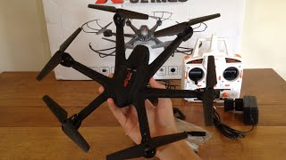 MJX X600 Review and Flight