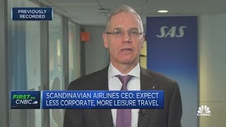 Scandinavian Airlines faces 'severe competitive environment,' says CEO